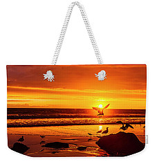 Sunset Surprise Pano Weekender Tote Bag