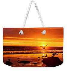 Sunset Surprise Pano Weekender Tote Bag