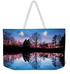 Sunset Symmetry Weekender Tote Bag