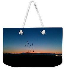 Sunset, Temple, Peace Weekender Tote Bag