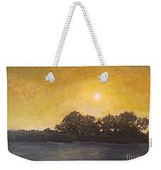 Sunset Through The Fog Weekender Tote Bag
