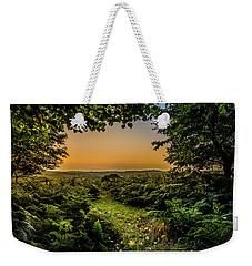 Sunset Through Trees Weekender Tote Bag
