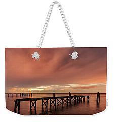 Sunset Thru Storm Clouds Weekender Tote Bag
