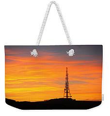 Sunset Tower Weekender Tote Bag
