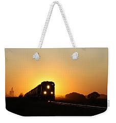 Sunset Express Weekender Tote Bag