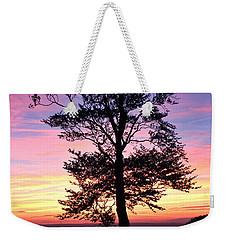 Sunset Tree Weekender Tote Bag by RKAB Works