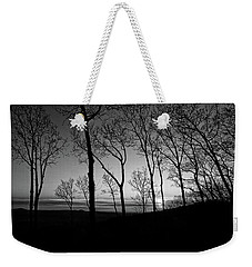 Sunset Trees Weekender Tote Bag