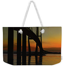 Sunset Under The Bridge Weekender Tote Bag