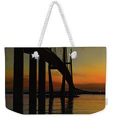 Sunset Under The Bridge Weekender Tote Bag