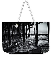 Sunset Under The Santa Monica Pier Weekender Tote Bag