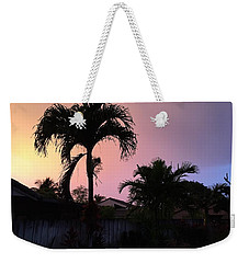 Sunset Weekender Tote Bag by Val Oconnor