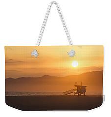 Sunset Venice Beach  Weekender Tote Bag
