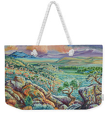 Sunset View From The Cedar Breaks Weekender Tote Bag