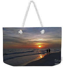 Weekender Tote Bag featuring the photograph Tranquility by Terri Mills