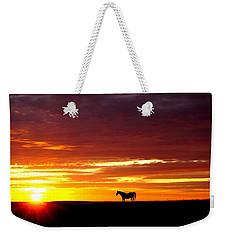 Sunset Watcher Weekender Tote Bag