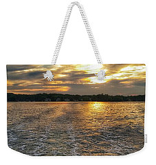 Sunset Waters Weekender Tote Bag