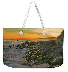 Sunset Waves Weekender Tote Bag by Todd Breitling