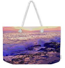 Sunset, West Oahu Weekender Tote Bag
