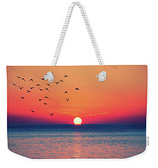 Sunset Wishes Weekender Tote Bag