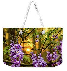 Sunset Wisteria Weekender Tote Bag