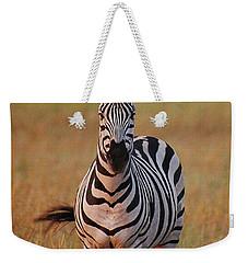 Sunset Zebra Weekender Tote Bag
