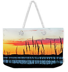Sunsets Colors Weekender Tote Bag by Elsa Marie Santoro