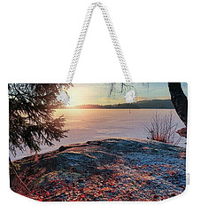 Sunsets Creates Magic Weekender Tote Bag
