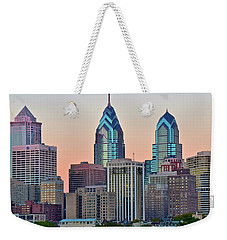 Sunsets Glow In Philly Weekender Tote Bag