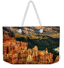 Sunsets In The Canyon Weekender Tote Bag by Rebecca Hiatt