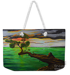 Sunsetting Weekender Tote Bag