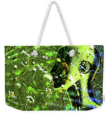 Weekender Tote Bag featuring the photograph Sunshine And Daisies by LemonArt Photography