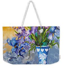 Sunshine And Flowers Weekender Tote Bag