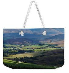 Sunshine And Shadow - Braes Of Glenlivet Weekender Tote Bag
