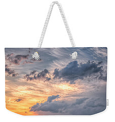 Sunshine And Storm Clouds Weekender Tote Bag