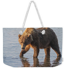 Sunshine Bear Weekender Tote Bag by Chris Scroggins