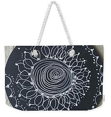 Weekender Tote Bag featuring the drawing Sunshine by Carole Breccht