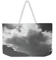 Sunshine, Clouds And The Bay In Bw Weekender Tote Bag