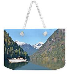 Sunshine Coast Cruising Weekender Tote Bag by Jack Pumphrey