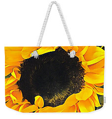 Weekender Tote Bag featuring the photograph Sunshine On My Mind by Jessica Manelis