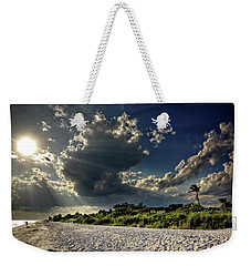 Weekender Tote Bag featuring the photograph Sunshine On Sanibel Island by Chrystal Mimbs