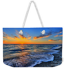 Weekender Tote Bag featuring the photograph Sunshine Skies by Scott Mahon
