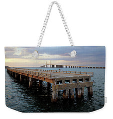Sunshine Skyway, Old And New Weekender Tote Bag