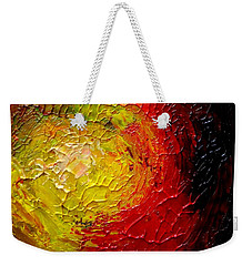 Weekender Tote Bag featuring the painting Sunspots by Fred Wilson