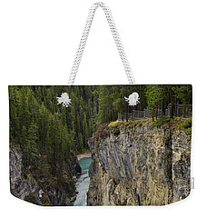 Sunwapta Falls Canyon Weekender Tote Bag