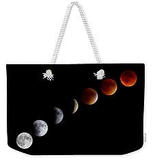 Super Blood Moon Eclipse Weekender Tote Bag