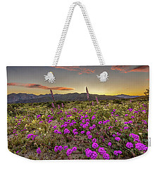 Super Bloom Sunset Weekender Tote Bag