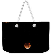 Super Blue Blood Moon January 31, 2018 Weekender Tote Bag