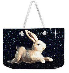 Super Bunny Weekender Tote Bag by Sarah Loft