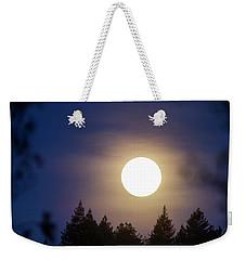 Super Full Moon Weekender Tote Bag