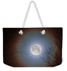 Super Moon 2017 Weekender Tote Bag